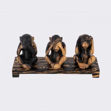 Les trois singes